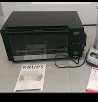 KRUPS 1600 Watts Toaster Oven w/ convection oven Toronto
