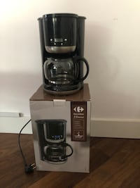 Programmable coffee maker with digital display (EU plug + adapter) LONDON