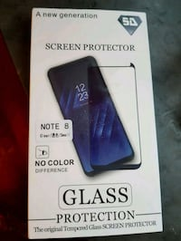 Note 8 screen protection  6646 km