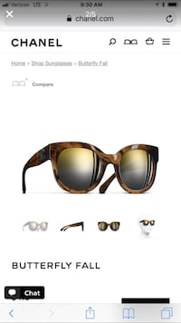 Channel Butterfly Ball Sunglasses  Lake Forest, 92610