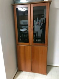 brown wooden cabinet with mirror Silver Spring, 20902