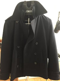 Men's navy pea coat - SMALL Toronto, M9V 3S8