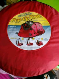 Kids lady bug pop up tent with casing Myrtle Beach, 29588