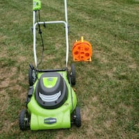 Electric lawn mower Holland, 49424
