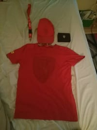 Ferrari shirt and hat and keychain and wallet  Roslin, K0K 2Y0