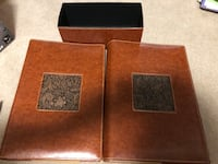 brown leather photo albums  Sherwood Park, T8H 0C3