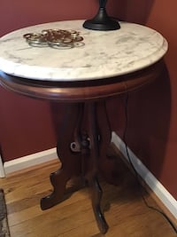 Antique marble top table Damascus, 20872
