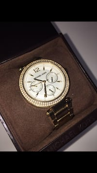 Beautiful Micheal Kors gold watch Newmarket, L3Y