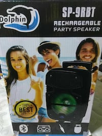 Dolphin rechargeable party speaker box