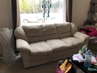 Couch and love seat just washed love seat