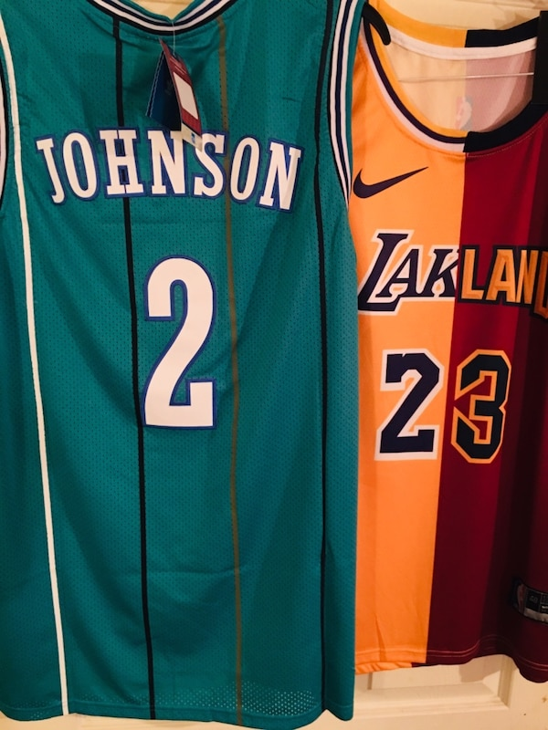 info for 86818 082be green and orange Nike Lebron James 23 jersey