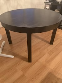 Dark brown/black expandable dining table Burnaby, V5H