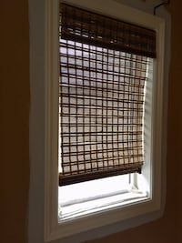 Bamboo Roll Up Blinds Richmond Hill, L4C