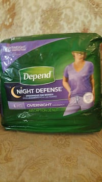 Depend night defense pack Hamilton, L8K 2K1