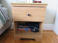brown wooden 2-drawer nightstand San Francisco