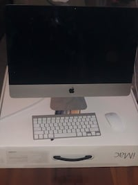 silver iMac with Apple Magic Keyboard and Magic Mouse Alexandria, 22312