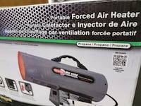 Portable forced air Heater Fremont, 94538