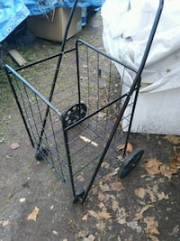 Metal foldable cart