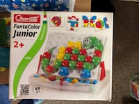 white and multicolored activity cube Leesburg