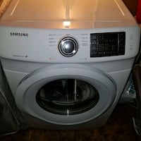 white Samsung front-load clothes Dryet 44 km