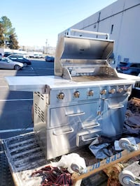 """DCS Series 7 Traditional 48"""" Natural Gas Grill With Double Side Burner Woodbridge, 22192"""