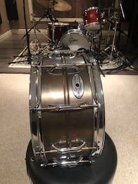 Pearl sensitone premium beaded brass snare Whitchurch-Stouffville, L4A 2C6