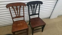 Two wooden chairs $45 obo Alexandria, 22302