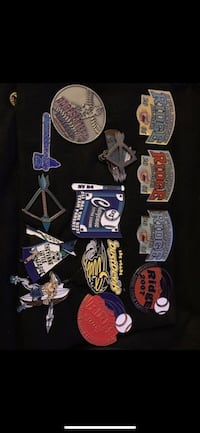 Assorted-color-and-brand keychain lot Las Vegas, 89103