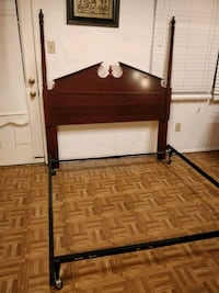 Like new solid wood queen/full size headboard in g Annandale, 22003