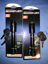 2 BARREL STYLE RECEIVER LOCKS