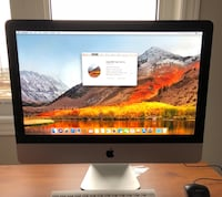 silver iMac with Apple Magic Keyboard and Magic Mouse Guelph, N1L 1M3