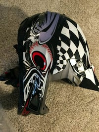 Troy Lee Designs D3 Carbon Helmet Size Large Manassas, 20112