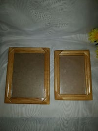 $5 for both 2 Solid Wood Photo Frames Mississauga, L4X 1S2