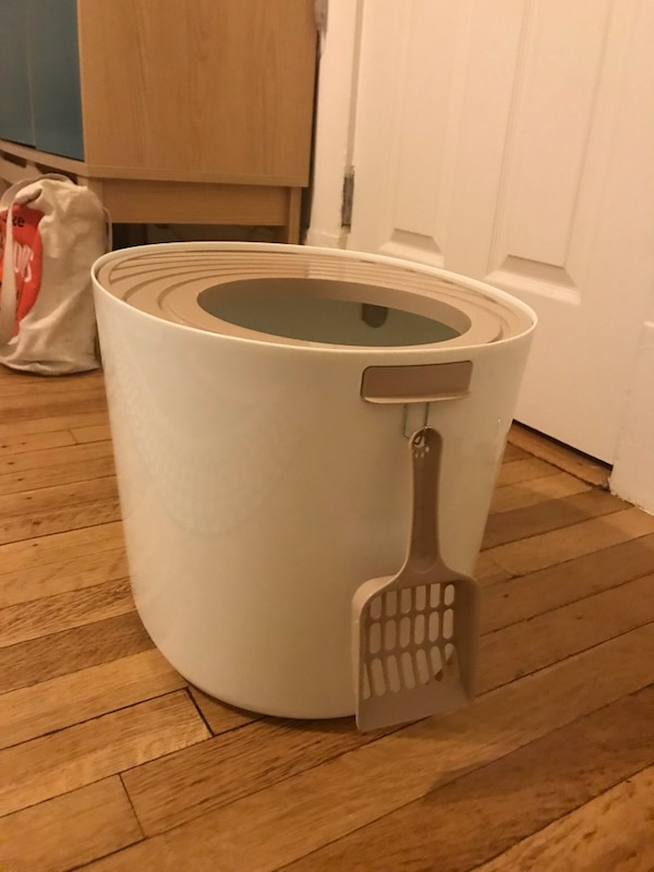 Litter Box with top entry