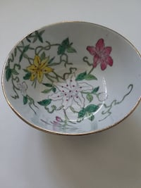 REDUCED--------------$22.00*****ASIAN LILY SAUCER PERFECT CONDITION