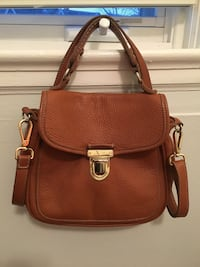 Roots satchel- good condition, one small spot as seen in pic  Toronto, M6R 1M1