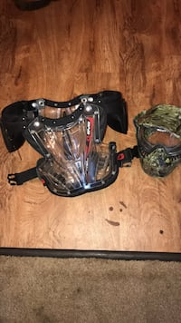 two black and gray paintball masks New Iberia, 70560