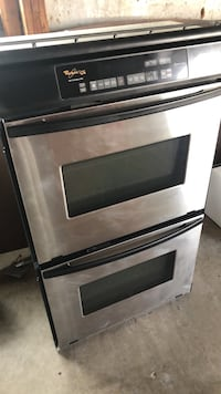 black and gray induction range oven Princeton, 75407
