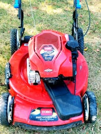 """Toro Recycler Smart Stow 22"""" 3-N-1 Lawn Mower Temple Hills"""