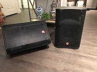 Amazing powered Loudspeakers WITH Mixing Console AND wires AND cables Dallas, 75204