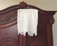 White lace skirt Revamped size large fits more like meduim Richmond Hill, L4S 2A9