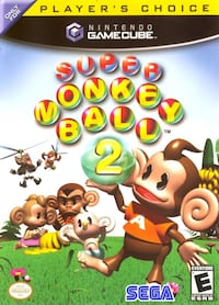 Super Monkey Ball 2 Nintendo Game Cube w/ game case and manual