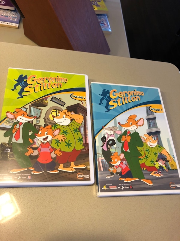Geronimo Stilton DVD's