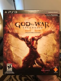 PS3 - God of War: Ascension (Collector's Edition) Tampa, 33625