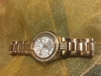 Guess watch. Rose gold. Used . Needs battery change  Markham, L3S 2E1