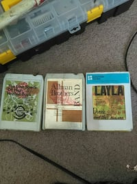 8 track tapes  Wilmington, 28409