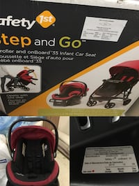 Safety first step and go car seat & stroller 多倫多, M4C 1M5