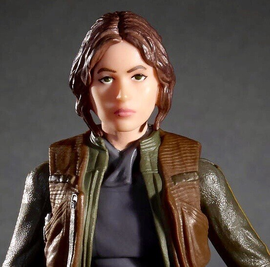 Photo Star Wars The Black Series Rogue One Sergeant Jyn Erso - New in Box!