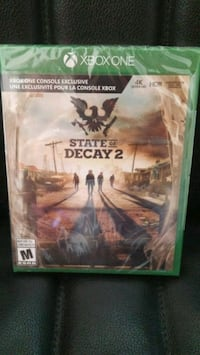 State of decay 2 -mint condition Calgary, T2P 3S2