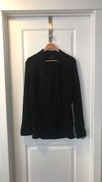 Jessica Simpson boiled wool jacket 8 button equestrian style XL  Calgary, T2P 0E4